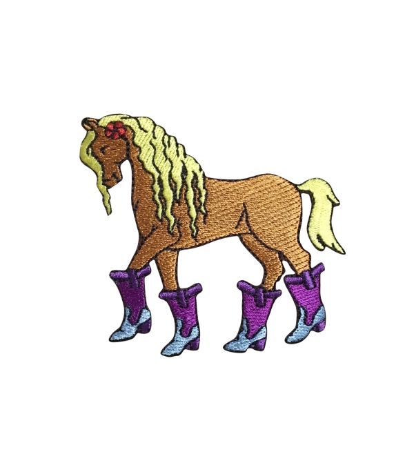 Horse With Boots