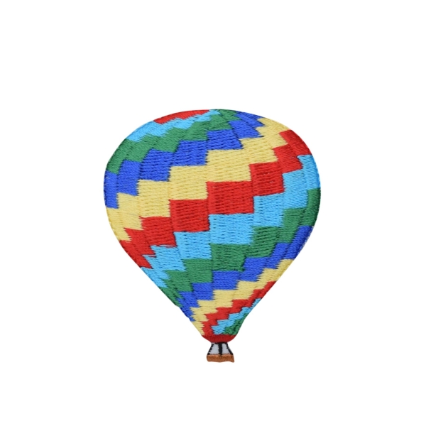 Hot Air Balloon - Zigzag