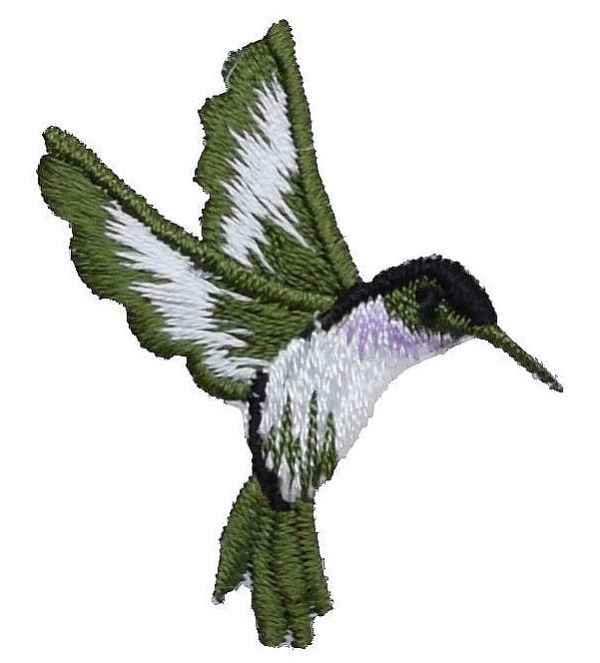 Small Hummingbird - Right Lavender
