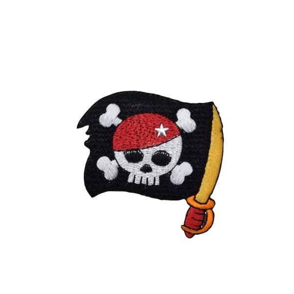 Pirate Skull - Sword Flag
