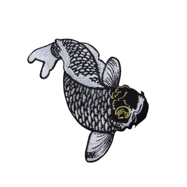 Koi Fish - Black
