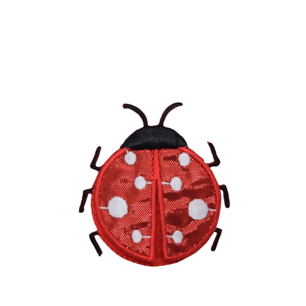 Large Red Satin Layered Ladybug