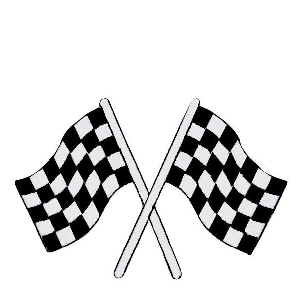 Large Racing Flag