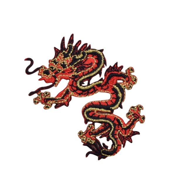 Small Red/Black Dragon Left