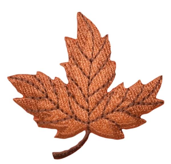 Large Leaf - Brown