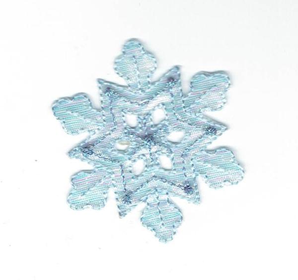 Medium Blue Snowflake