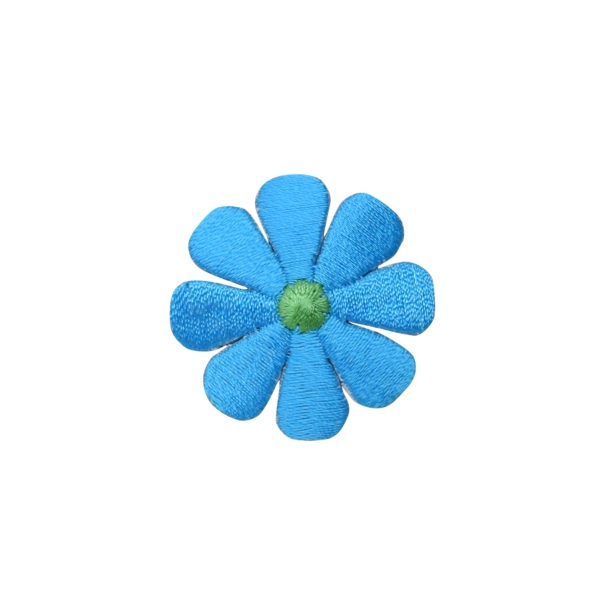 Small Turquoise Daisy Flower