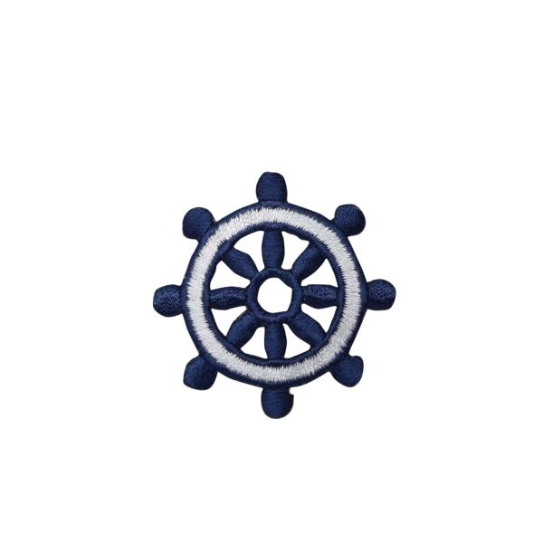 Ships Wheel - Blue/White