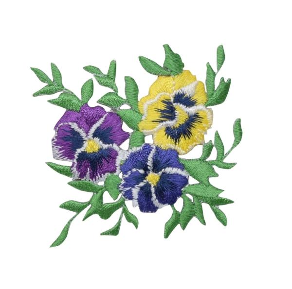 Pansies Flower Bunch