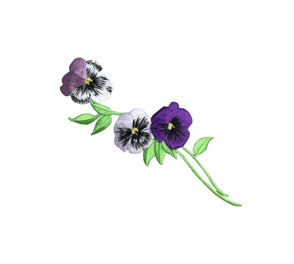 Pansy With Long Stem