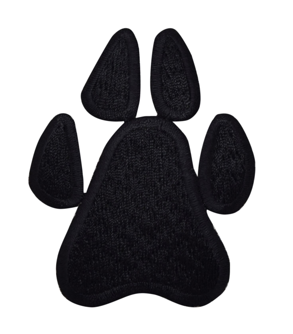 Large Black Paw Print
