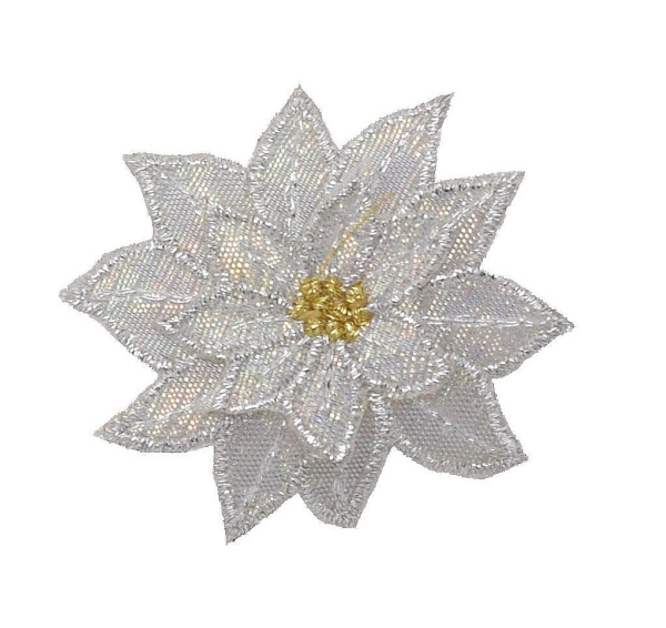 Medium White Poinsettia