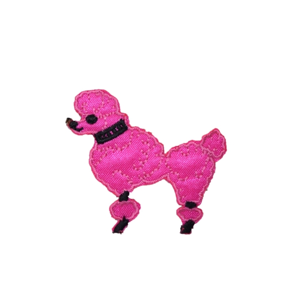 Hot Pink Poodle - XS - Facing Left