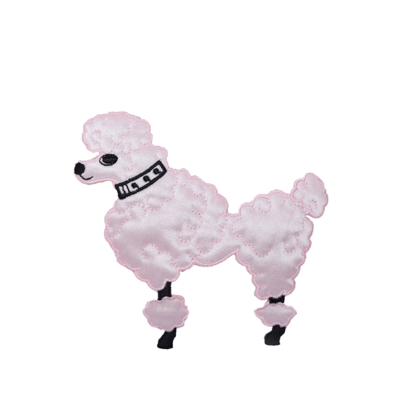 Pink Poodle - XS - Facing Left