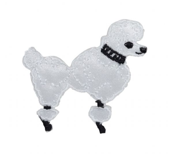 White Poodle - XS - Facing Right