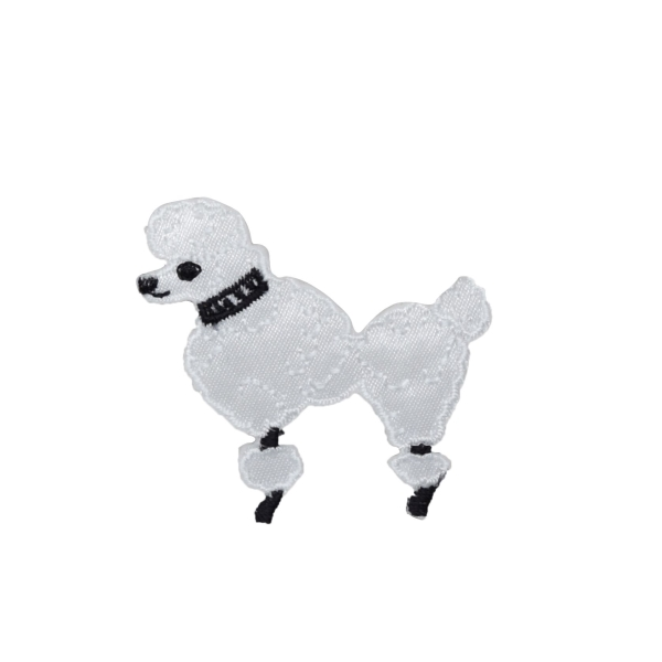 White Poodle - XS - Facing Left