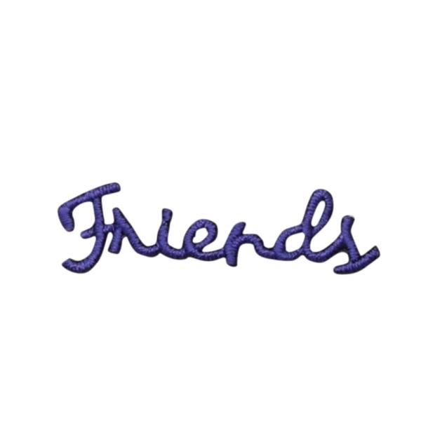 Purple Friends Greeting