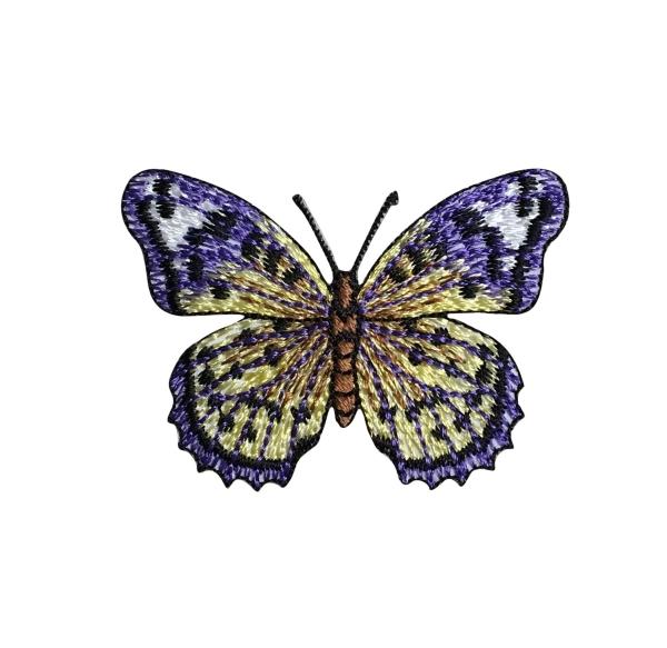 Purple/Yellow Butterfly