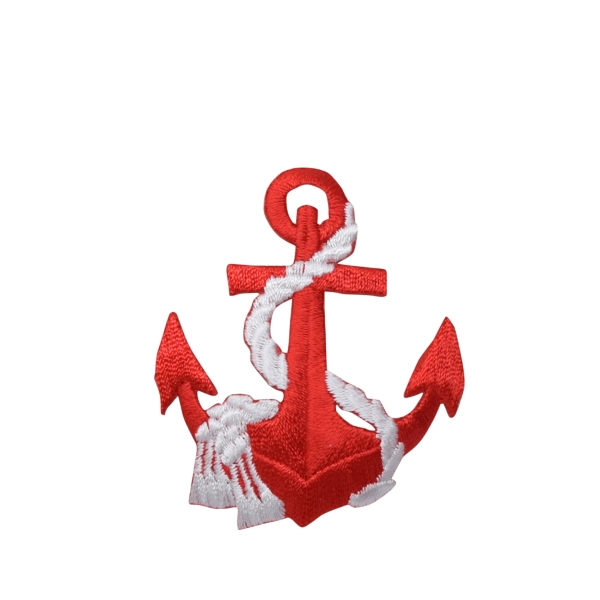 Anchor - Red - White Rope