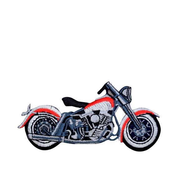 Red, Black, and Gray Motorcycle
