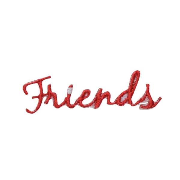 Red Friends Greeting