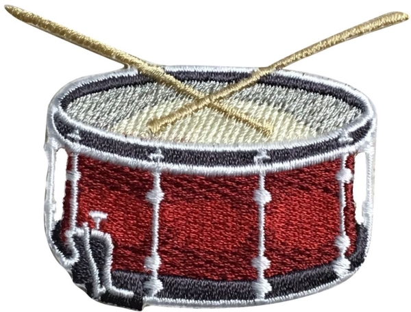 Red Snare Drum