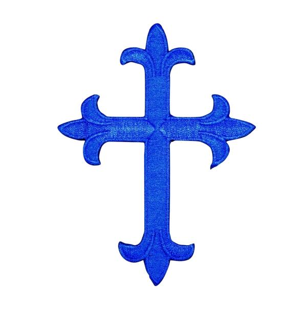 Royal Blue Religious Cross