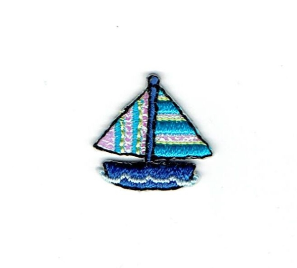 SAILBOAT IRON ON PATCH 156269-A