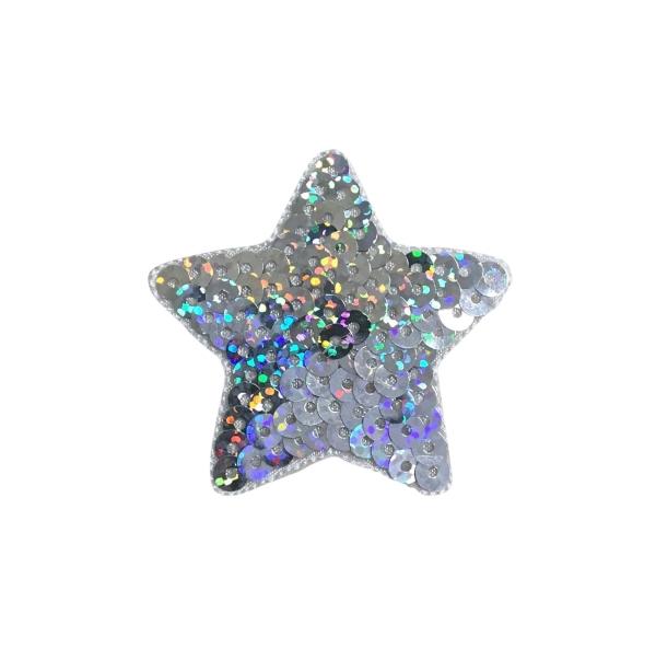 Silver Sequin Star
