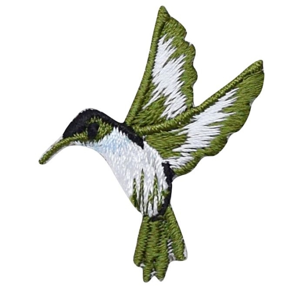 Small Hummingbird - Left Blue