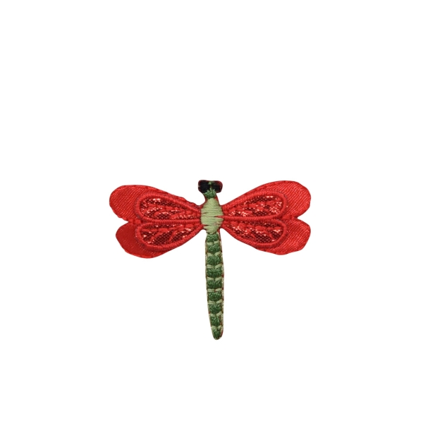 Red Layered Dragonfly
