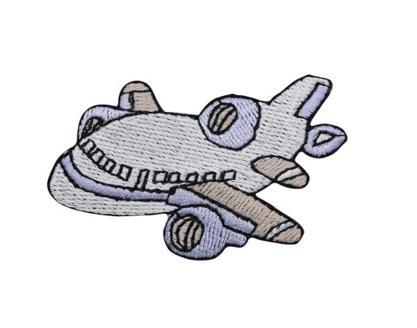 Jet Airplane - White/Blue
