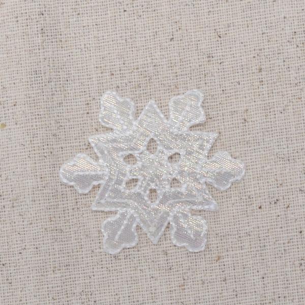Large White Snowflake