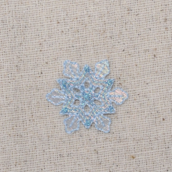 Small Blue Snowflake