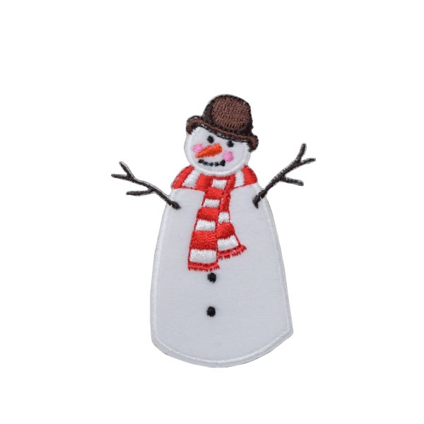 Snowman - Brown Hat
