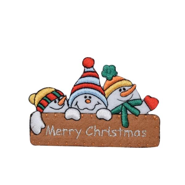 Snowman - Merry Christmas Sign