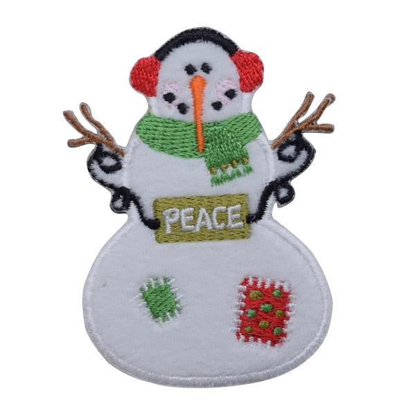 Snowman - Peace Sign