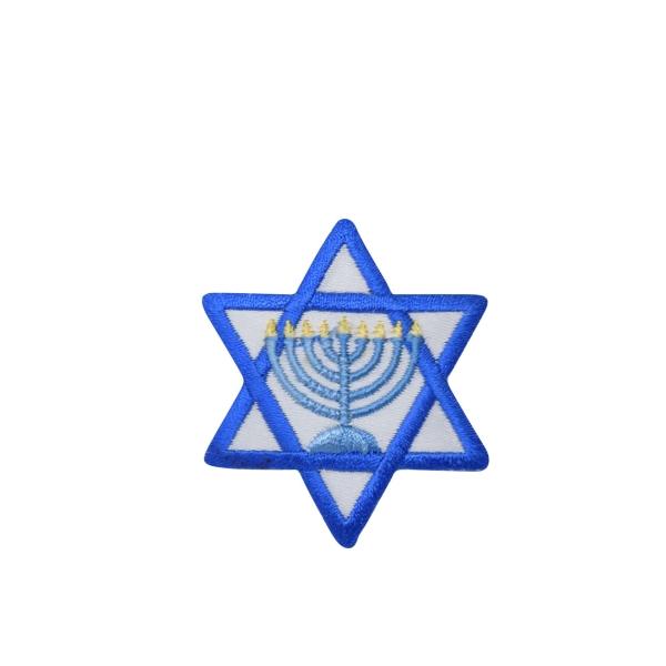 Star of David - Menorah