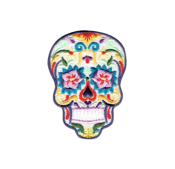 Sugar Skull - White