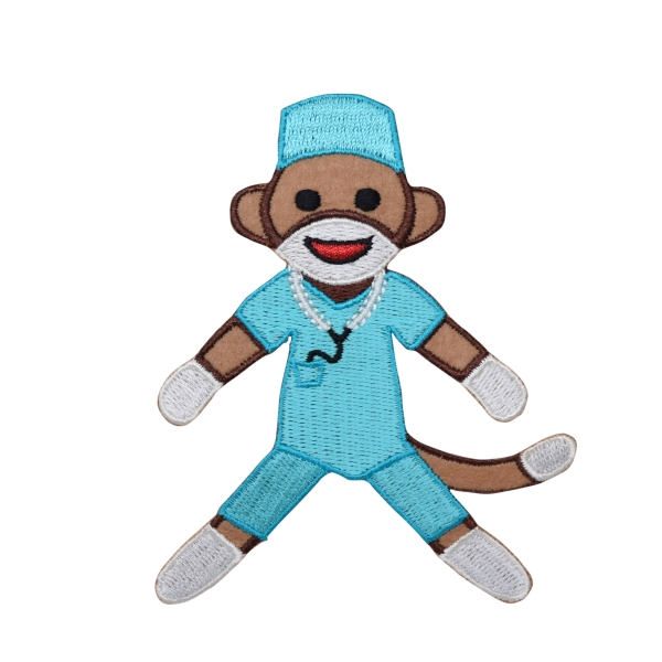 Surgeon Sock Monkey