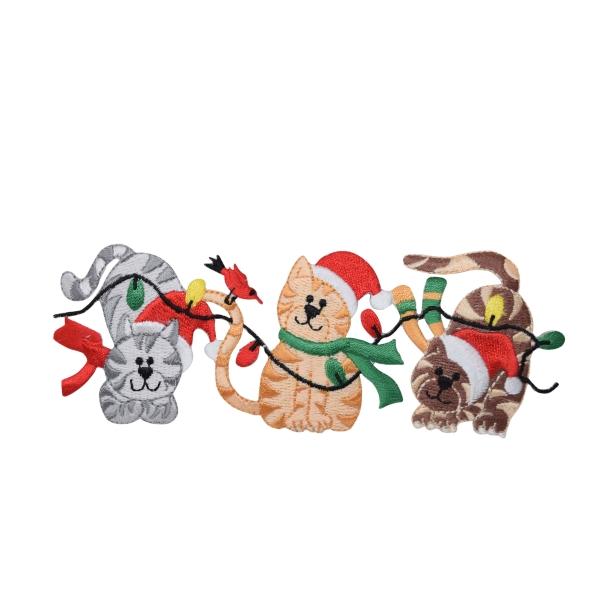 Three Christmas Cats
