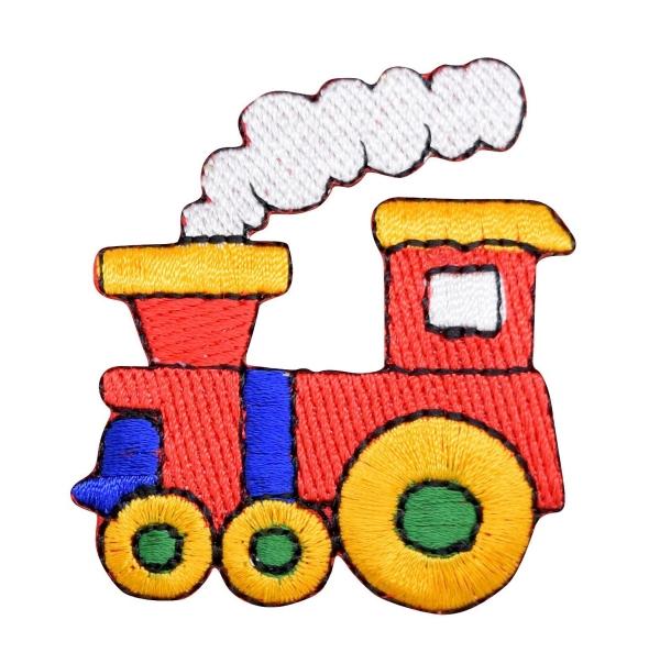 Colorful Childrens Choo Choo Train Engine