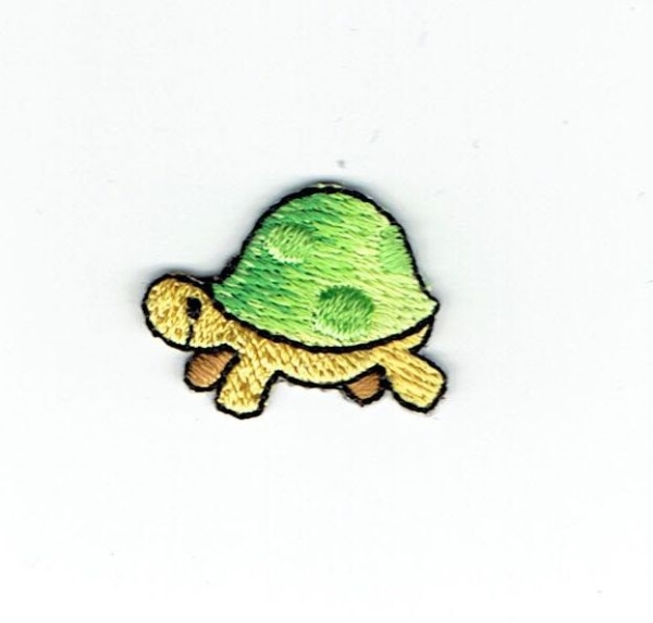 TURTLE IRON ON PATCH APPLIQUE 1511417-A