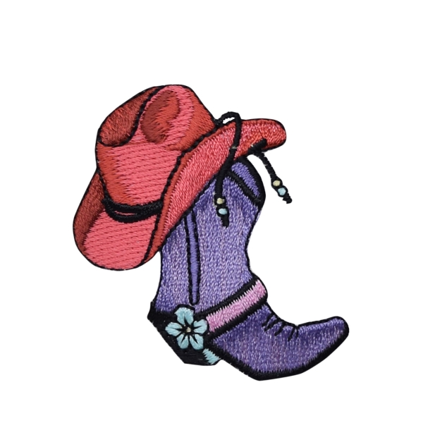 Western Boot and Hat