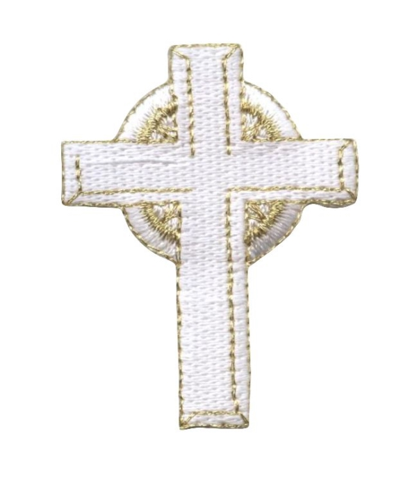 White Celtic High Cross Religious