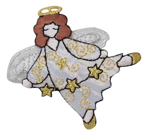 White Robe Angel with Stars