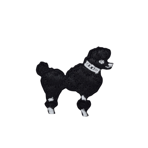Black Poodle - XS - Facing Right