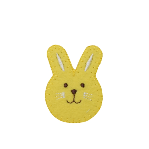 Yellow Bunny Face