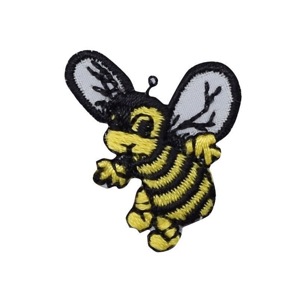 Yellowjacket Black/Yellow Bee with Face