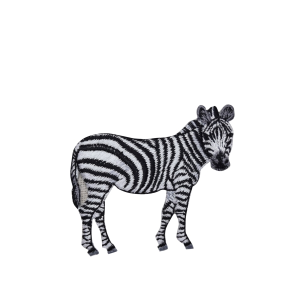 Zebra Full Body Standing facing right